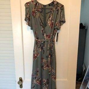 Lulu's Floral gown -never worn- (small)